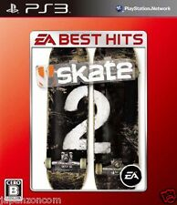 Used PS3 Skate 2  PLAYSTATION 3 SONY JAPAN JAPANESE IMPORT