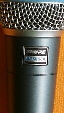 100% working Gunuine SHURE Beta 58A Dynamic Vocal Microphone Mic