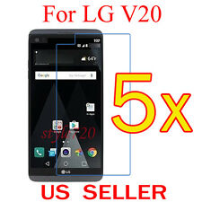 5x Clear LCD Screen Protector Guard Cover Shield Film For LG V20