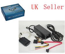 New USB 2.0 to SATA ATA IDE 2.5 3.5 HD HDD Cable Adaptor
