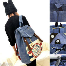New Ladies Canvas Backpack Shoulder Bags Casual Bags Fashion School Book Bag