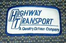 HIGHWAY TRANSPORT (TRUCKING) PATCH