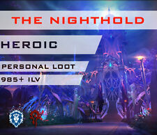 [EU] The Nighthold Heroic 10/10 Personal Loot WoW Boot Legion Raid Nachtfestung