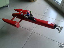 Rigger Hydro SAW Outrigger Hydroplane Rc Boat OS MAX RZM 3.5cc Complet