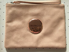 Mimco Supernatural Blossom Pink Polished leather pouch clutch wristlet medium