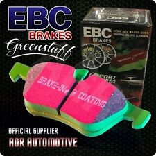 EBC GREENSTUFF FRONT PADS DP2762 FOR SUZUKI SWIFT 1.3 GTI (AA33S) 86-88