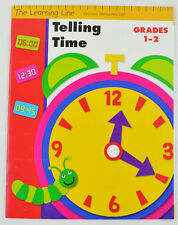 Telling Time by The Learning Line - Grades 1 - 2 (2007, Paperback)