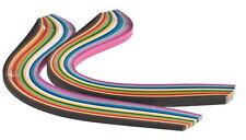 280 strisce quilling alte 4 mm e 8 mm tonalità colori accesi