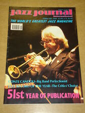 JAZZ JOURNAL INTERNATIONAL VOL 51 #2 1998 FEBRUARY CONTE CANDOLI BOBBY HACKETT
