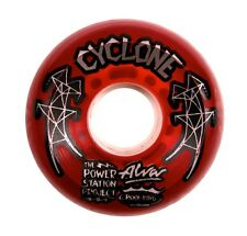 Alva Skates Power Station Project CYCLONE Skateboard Wheels 60mm RED