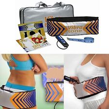 Burn Fat Slimming Belt Vibra Tone Lose Weight Belt Slim Waist Vibrating Massager