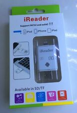 iReader iDrive TF/SD Card External Memory Storage Expansion For iPhone iPod iPad