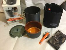 GSI Sports Pinnacle Soloist Cooking System Camping Pot Cup Cookware