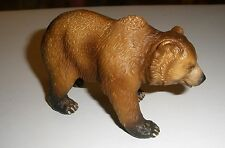 2003 Schleich Grizzly Bear Figure In Walking/Standing Pose Am-Lines