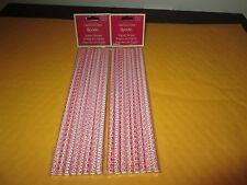 SPODE CHRISTMAS TREE PAPER STRAWS NEW IN PACKAGE 2 PACKS 8 PIECES PER PACK