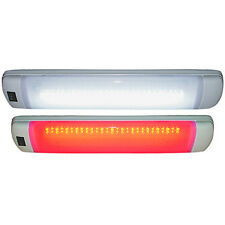 Surface Mount White Two Color 16 Inch LED Interior Light for Boats