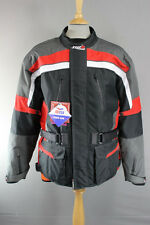 "TUZO TEXTILE BIKER JACKET + SHOULDER/ELBOW CE ARMOUR & THERMAL LINING 44"":UNWORN"