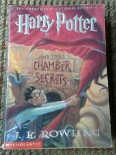 Harry Potter & The Chamber of Secrets JK Rowling Scholastic US Paperback RARE