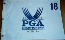 2014 PGA CHAMPIONSHIP VALHALLA GOLF COURSE PIN FLAG 18 EMBROIDERED RORY MCILROY