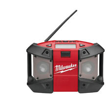 Milwaukee M12 JOBSITE RADIO 240V, C12JSR-0, Weather Proof,8Hr Runtime *USA Brand