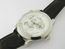 Jaeger-LECOULTRE MASTER CONTROL Geographic ACCIAIO ref 147.8.57.s automatico 40 mm