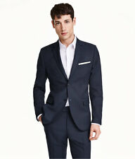 NWT H&M SLIM FIT ( GRAY LABEL ) NAVY  * ALL SIZES * FREE SHIPPING