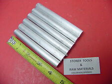"""6 pieces 1/2"""" ALUMINUM 6061 ROUND ROD 4"""" long Solid T6511 .500"""" Lathe Bar Stock"""