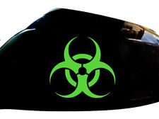 BIOHAZARD Auto Adesivo Specchietto Laterale Styling decalcomanie (Set di 2), Verde Neon