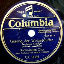 A077/DON KOSAKEN CHOR-Don cossacks choir-Serge Jaroff-Gesang der Wolga-Schellack