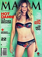 Maxim Magazine June 2013 HEATHER GRAHAM HOT 100 Ashley Tisdale Kate Upton Vaness