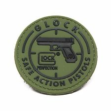 Glock Morale Patch - PVC Morale Patch, Velcro Backed by NEO Tactical Gear