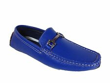 Men Brixton New Leather Driving Casual Shoes Moccasins Slip On Loafers Payne
