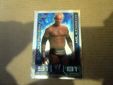 Carte - Catch  Topps Slam Attax 2008 - Smack Down - MR. Kennedy - Finishing Move