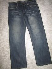 Men's DEPARTED ALVARADO ST Slim Straight Pocket Flap Denim Jeans Sz 36 x 30