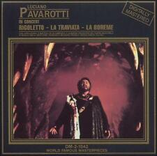 Luciano Pavarotti - In Concert (Rigoletto, La Traviata, La Boheme) CD VERY GOOD!