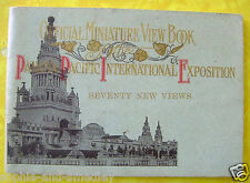1915 Pan Pacific Expo PPIE - Official Miniature View Book - No. 2 of 2