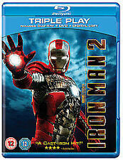 Iron Man 2 - Triple Play (Blu-ray + DVD + Digital Copy) [2010] New