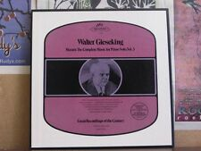 MOZART COMPLETE PIANO SOLO 3, GIESEKING 3 LP IC-6049