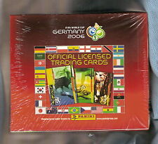 #TT. 2006 WORLD CUP SOCCER FOOTBALL  CARDS - UNOPENED BOX, PANINI