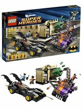 LEGO super heroes 6864 Batman Batmobile two face persécution street Chase