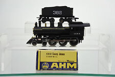"RIVAROSSI HO SCALE 5151-B I.C.R.R. 4-6-0 ""CASEY JONES"" STEAM ENGINE & TENDER"