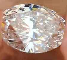 Large Unheated 18.85ct white Sapphire13x18mm Brilliant Oval Cut AAAA+ Loose Gem
