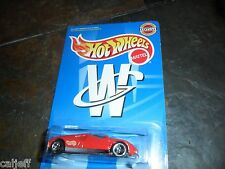 Limited Hot Wheels White's Guide Ford GT-90 Red Exclusive mint in Protecto