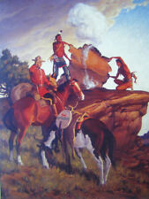 Canadian Mountie RCMP Smoke signals Indians