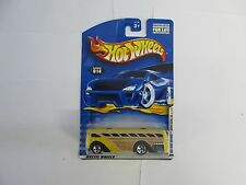 2001 Hot Wheels First Editions Surfin School Bus mispack (facing wrong direction
