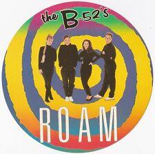 B-52's    Sticker rond  édité dans les années 1990