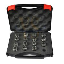 Precision set 15pcs  ER25 collets  ER25 collet chuck cnc milling and lathe tools
