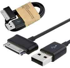 USB Sync Data Cable Charger FOR SAMSUNG Galaxy Tab 2 Note 7.0 7.7 8.9 10.1 BLACK
