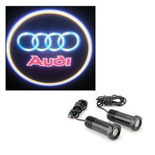 Audi - 5w Cree LED Car Door Logo Welcome Projector Lights Universal Fit 12v