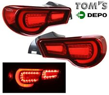 2012-2013 Scion FR-S FRS Subaru BRZ LED Tail Lights GENUINE TOM'S DEPO
